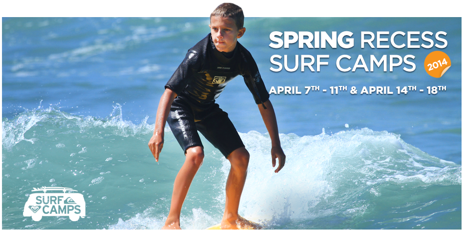 Spring Recess Surf Camps